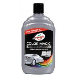 Color Magic  cera protettiva arricchita con colore - 500 ml - Argento