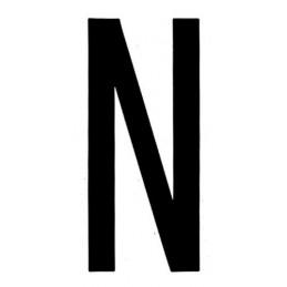Spell-It  caratteri alfanumerici adesivi 80x35 mm - N