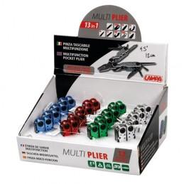 Multi Pliers  pinze tascabili multifunzione 13 in 1  espositore 16 pz