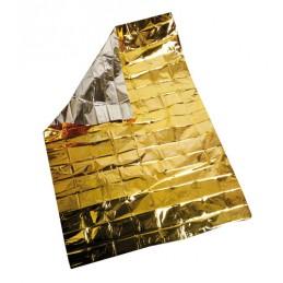 Coperta isotermica oro argento - 160x210 cm