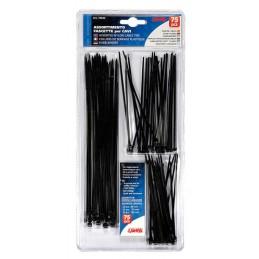 Fascette in nylon per cavi  set 75 pz