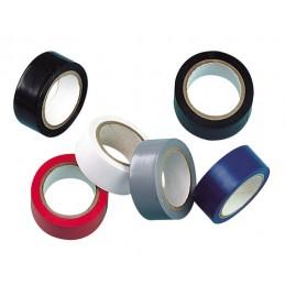 Nastri isolanti adesivi omologati in PVC plastificato  set 6 pz