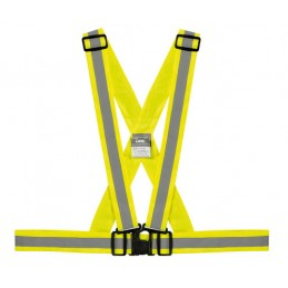 X-Belt  bretelle catarifrangenti - Giallo