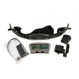 Bike-Station 13 funzioni con cardio monitor - Senza filo