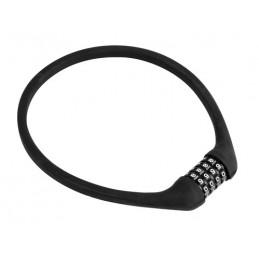 Silicon-Lock  cavo antifurto in acciaio   12 mm - 60 cm