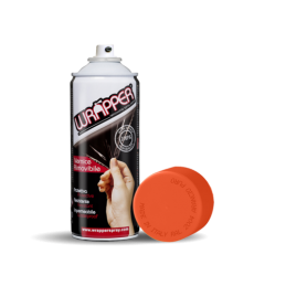 Wrapper  pellicola spray rimovibile  400 ml - Arancio puro - Ral 2004