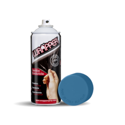 Wrapper  pellicola spray rimovibile  400 ml - Azzurro fluo