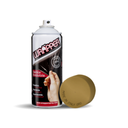Wrapper  pellicola spray rimovibile  400 ml - Oro