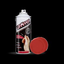 Wrapper  pellicola spray rimovibile  400 ml - Rosso fuoco - Ral 3000