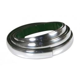 LAM-20874 - Profilo adesivo cromato - 4 m - 35 mm