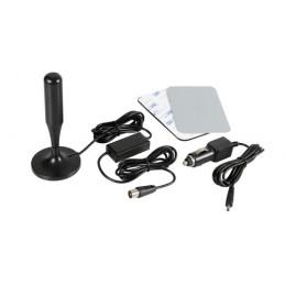 LAM-39106 - Globo-1 Plus  antenna TV amplificata con ricezione digitale  12 24V