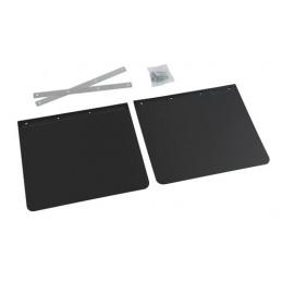 Coppia paraspruzzi neri personalizzati - 30x35 cm - Stampa 2 colori