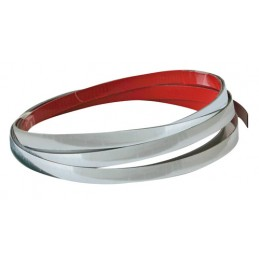 Profiler  nastro adesivo cromato per profilature - 4 m - 5 mm