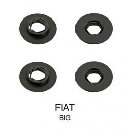 Clip fissaggio tappeti  set 4 pz - Grande - Fiat
