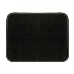 No-Slip  tappetino battitacco in moquette - L - Nero
