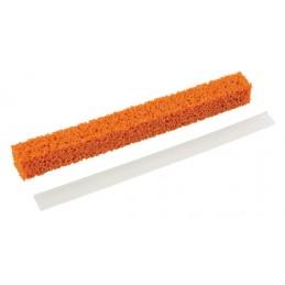 Kit ricambio lama silicone + gommaspugna - 30 cm