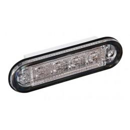Premium  luce a 4 led  montaggio ad incasso  12 24V - Rosso