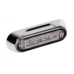Premium  luce a 4 led  montaggio superficie  12 24V - Bianco