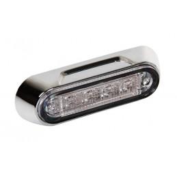 Premium  luce a 4 led  montaggio superficie  12 24V - Rosso