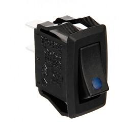 Micro interruttore con spia a Led - 12 24V - Blu