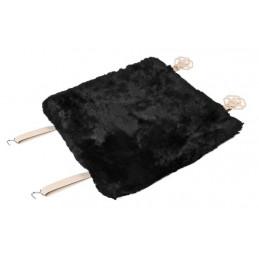 Comfort Max  coprisedile in montone - Nero