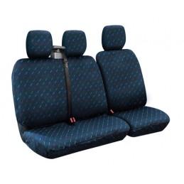 Dido-2  set fodere per furgone con avvolgicintura - Blu