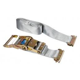 Nastro tensore con cricchetto - Gancio per carichi interni - 1 2+3 m