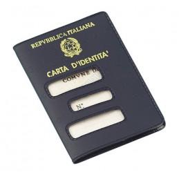 Porta carta d'identità cartacea (vecchio formato)