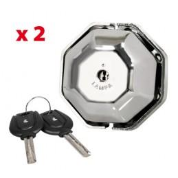 Vigilant  kit 2 serrature aggiuntive per porte veicoli commerciali