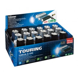 Touring  torcia a 9 Led  1200 Mcd - Display 18 pz