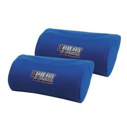 Racing Comfort  coppia poggiacollo poggiatesta - Blu