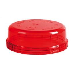 Calotta ricambio per lampade rotanti art. 72990   72991 - Rosso