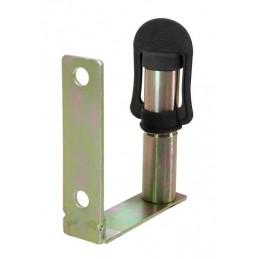 Fix-4  Staffa con perno e spinotto DIN per lampade rotanti  attacco tubolare