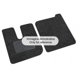 Set tappeti su misura in moquette - Iveco Stralis (08 02 12 12) cab. stretta narrow - Iveco Stralis (09 16 ) cab. stretta narrow