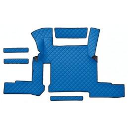 Tappeto centrale in similpelle - Blu - Man TGX (01 18 ) automatico  1 cassetto