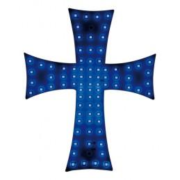 Croce a Led 24V - Blu