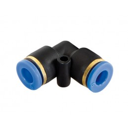 Raccordi rapidi a 90 gradi  per tubi aria  set 20 pz -   6 mm