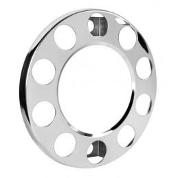 Anello coprimozzo in acciaio inox  per cerchi in lega