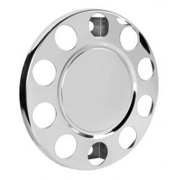Coprimozzo in acciaio inox  per cerchi in acciaio