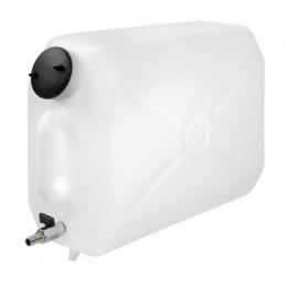 Tanica in plastica  con rubinetto in metallo - 25 L
