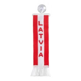 Mini-Sciarpa  confezione singola - Latvia