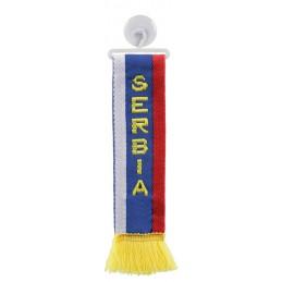 Mini-Sciarpa  confezione singola - Serbia