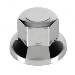 Set 10 copribulloni in acciaio inox lucidato -   33 mm