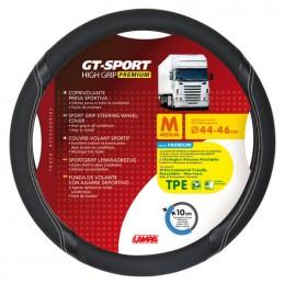 GT-Sport  coprivolante in TPE - M -   44 46 cm - Nero Argento