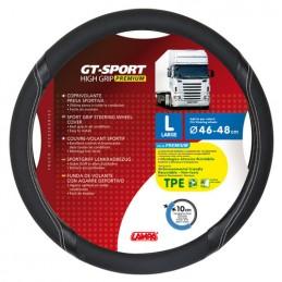 GT-Sport  coprivolante in TPE - L -   46 48 cm - Nero Argento