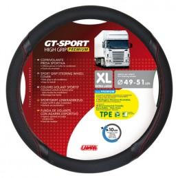 GT-Sport  coprivolante in TPE - XL -   49 51 cm - Nero Rosso