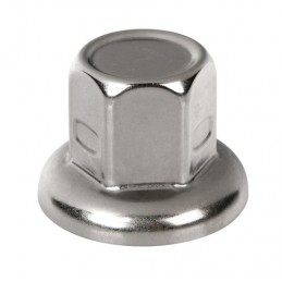 Set 40 copribulloni in acciaio inox -   32 mm