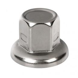 Set 40 copribulloni in acciaio inox -   33 mm