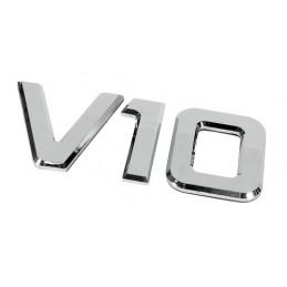 Emblemi motore 3D cromati - 92x210 mm - V10