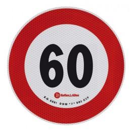 Contrassegno limite velocità - 60 Km h